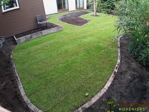 John Schmitz Hoveniers Assen Gras aanleg